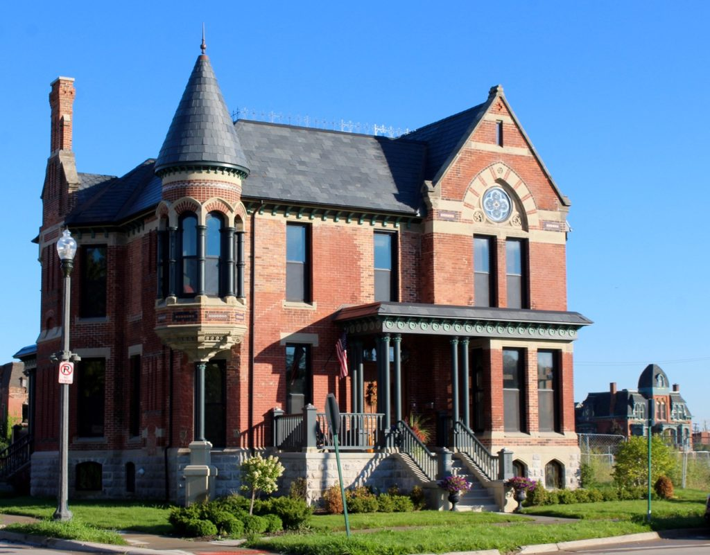 Ransom Gillis house today. Daily Detroit photo.