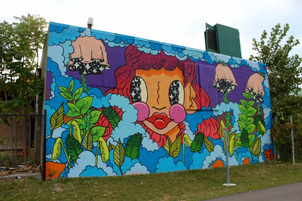 Paul Johnson Dequindre Cut Mural