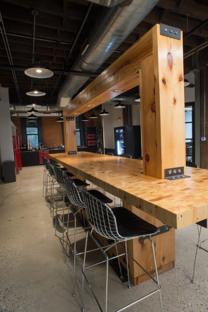 lear-innovation-center-work-cafe-bar-wood-repurposed-from-original-construction