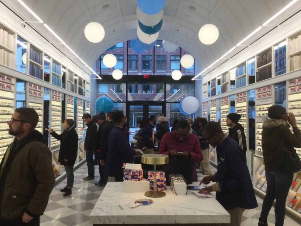 Warby Parker Detroit store