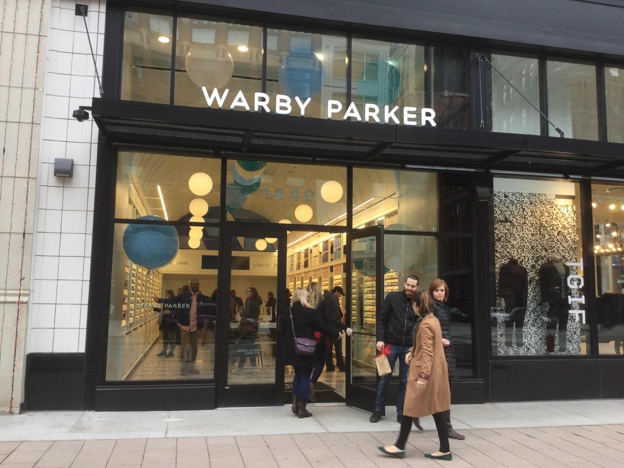 Resultado de imagen para warby parker open first store