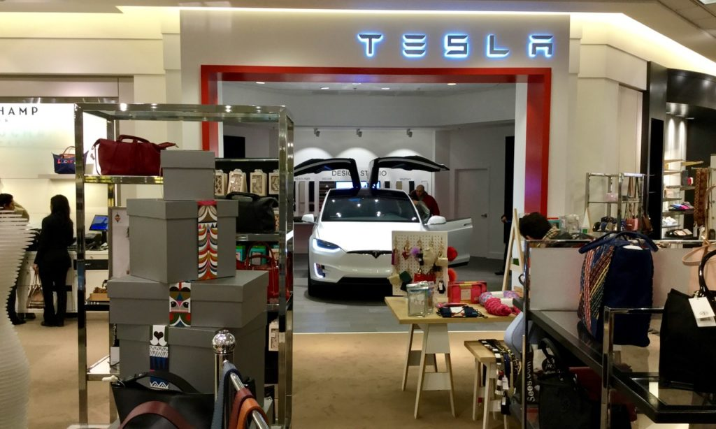 Tesla gallery Michigan Detroit