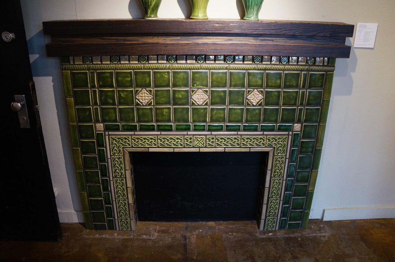 It S Not Just Old Houses That Have Pewabic Tiles You Can Work With Designers At To Create Something Totally Unique For Any Place In Your House