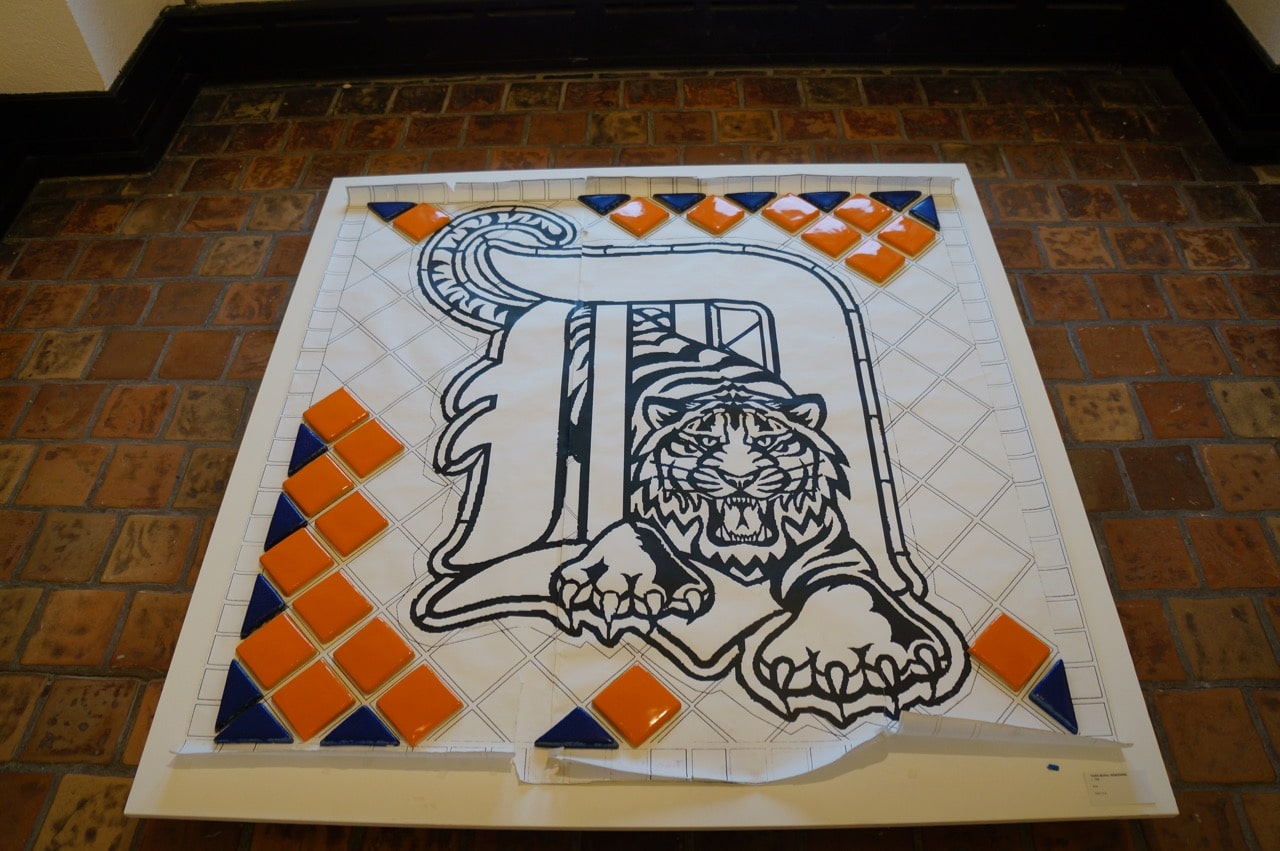 You Can Find Pewabic All Over Metro Detroit At Comerica Park Trinity Lutheran Church The Library Cranbrook People Mover