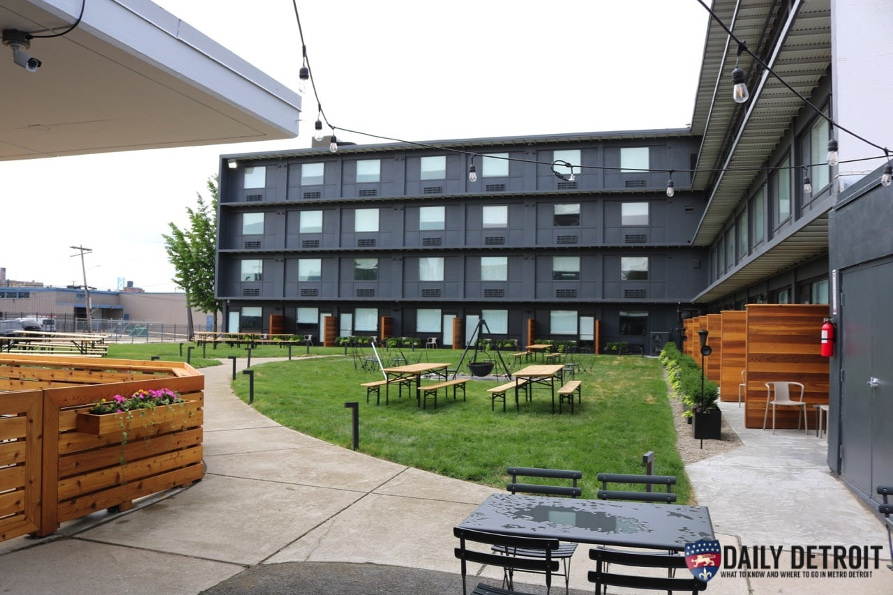The Outdoor Seating Area Is In The Courtyard Of The Trumble U0026 Porter. There  Is A Kettle Fire Pit And Bandstand Which Will Have Live Music Performances  ...