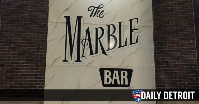 Your city 5 things to do in detroit for the weekend of for Marble bar detroit