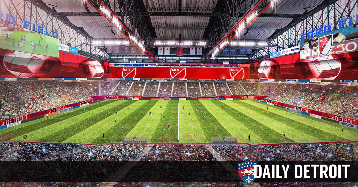 Detroit Named As One Of Just 4 Finalists For Two Major League Soccer Teams