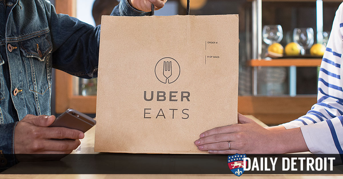 UberEATS Food Delivery Service Launches In Metro Detroit