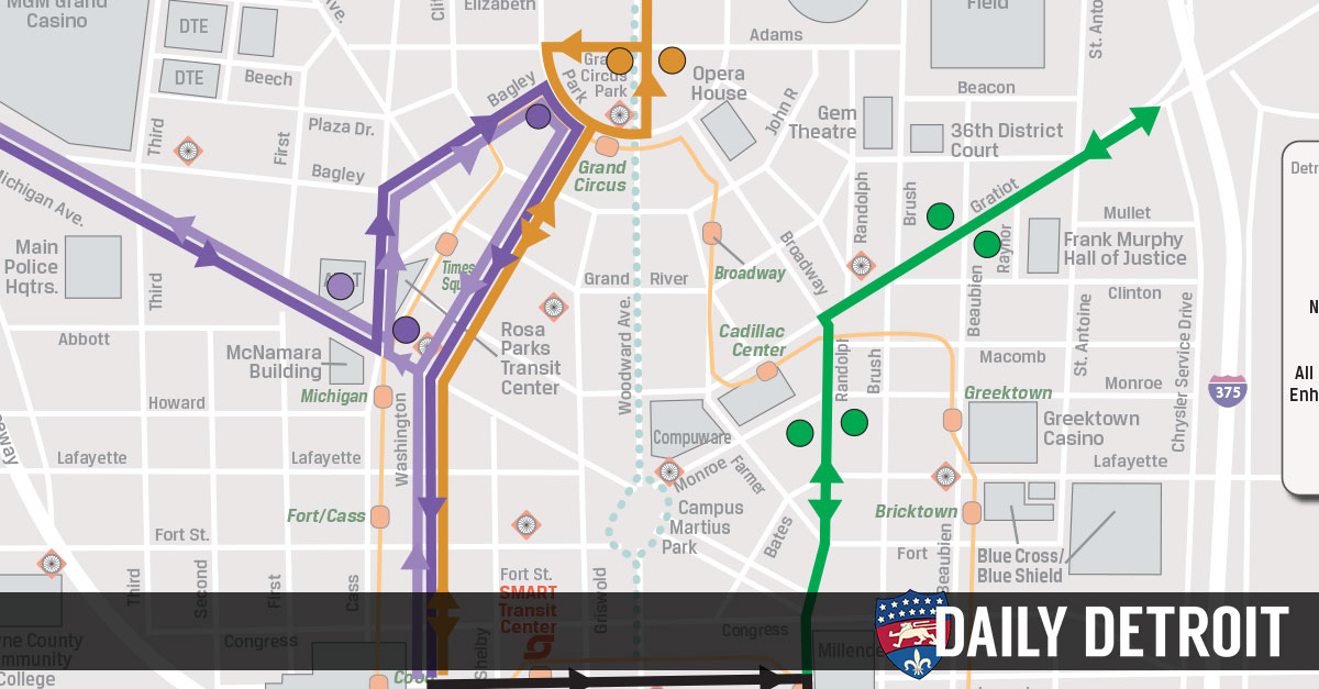 SMART Releases Proposed Downtown Stops For New Regional Corridor Routes