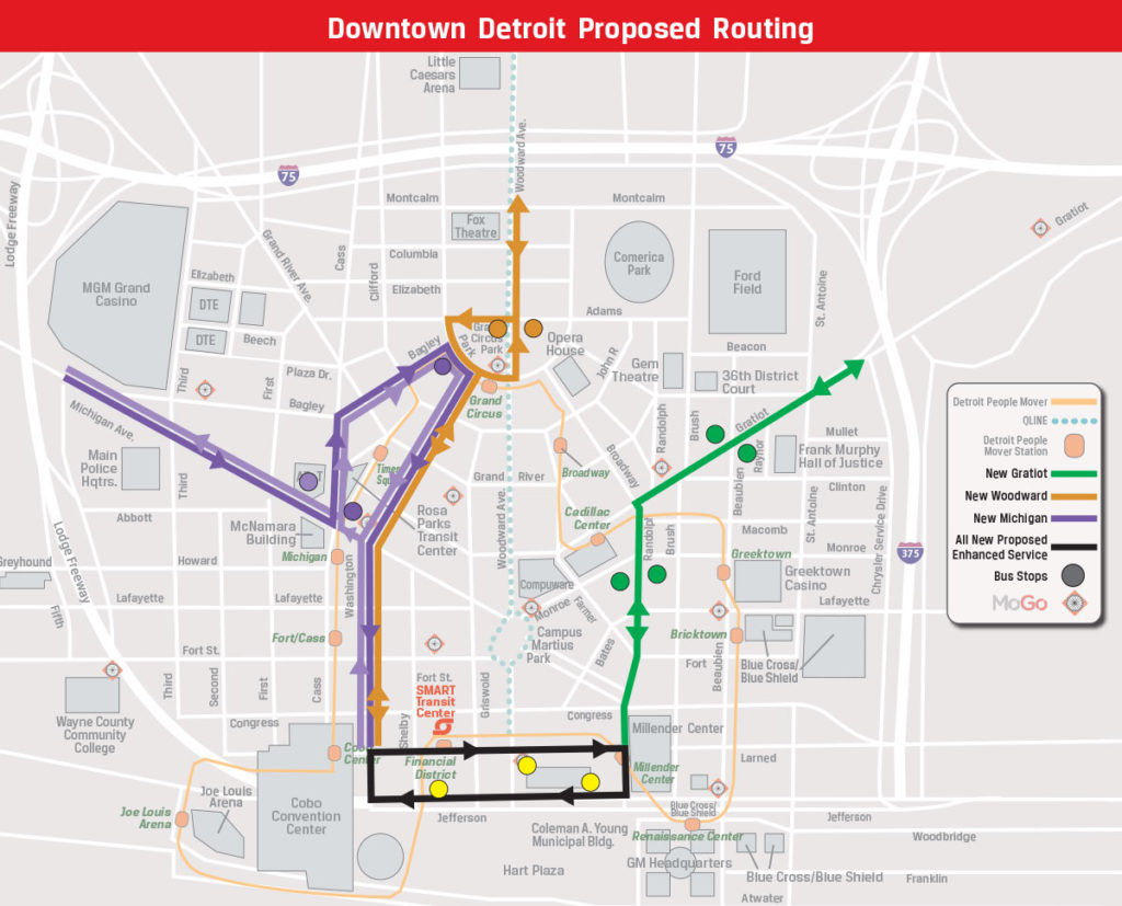 Smart Releases Proposed Downtown Stops For New Regional