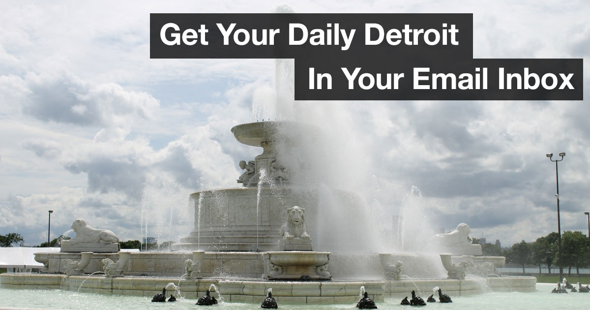 Detroit News Email Signup