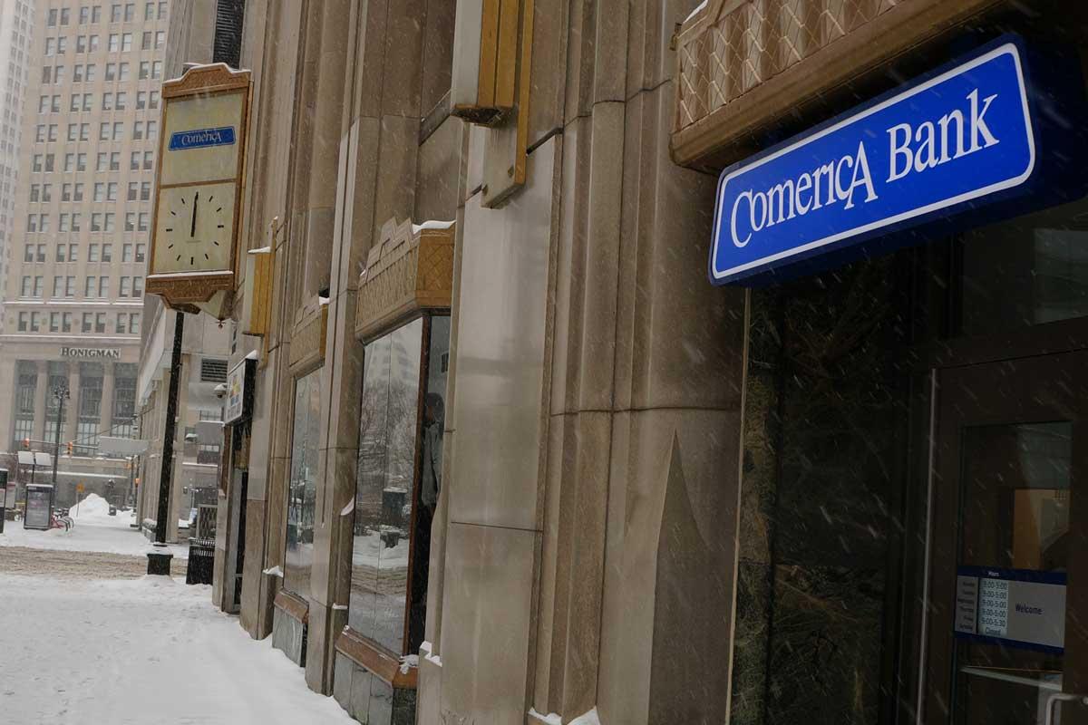 call comerica bank