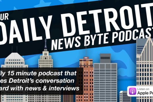 A daily 15 minute podcast that pushes Detroit's conversation forward with news & interviews